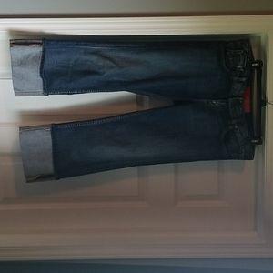 Guess stretch Capri jeans